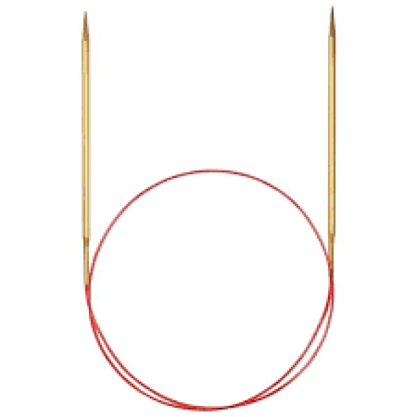 ADDI спицы круговые с удлин. кончиком 755-7