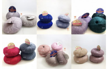 Table Soft Dream and Merinos 100%, Iren color combinations