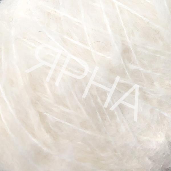 Пряжа на конусах Кид 80% Stonewashed LINEA PIU #    599 [натуральный]