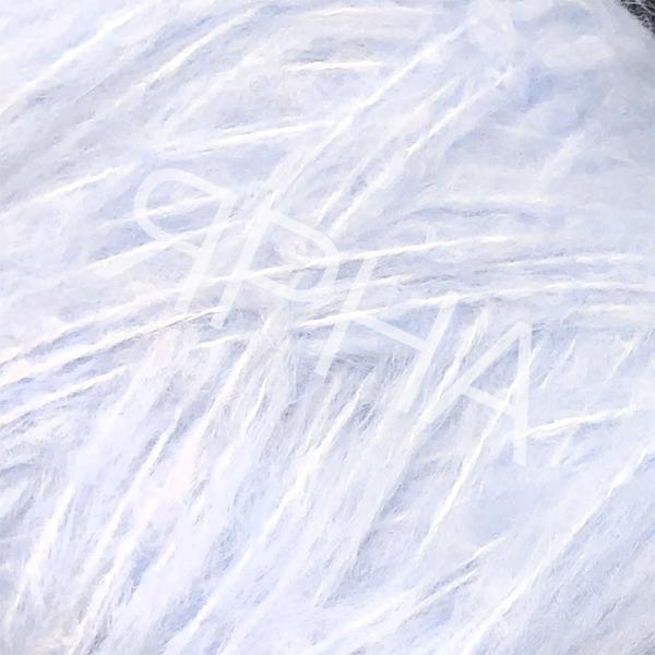 Пряжа на конусах Кид 80% Stonewashed LINEA PIU # 144121 [голубой]