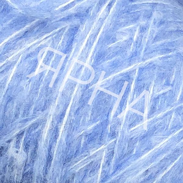 Пряжа на конусах Кид 80% Stonewashed LINEA PIU #   4056 [насыщ голубой]
