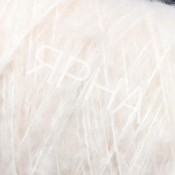 Пряжа на конусах Кид 80% Stonewashed LINEA PIU #   1206 [беллини]