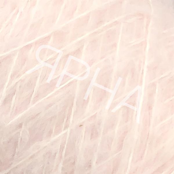 Пряжа на конусах Кид 80% Stonewashed LINEA PIU #   2004 [пудровый розовый]