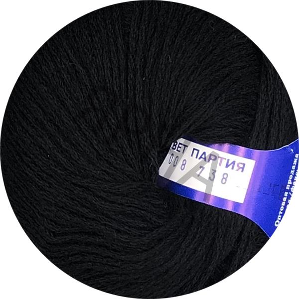 Yarn Merinos 100% Ярна/ВВВ #    008 [кабле черный]