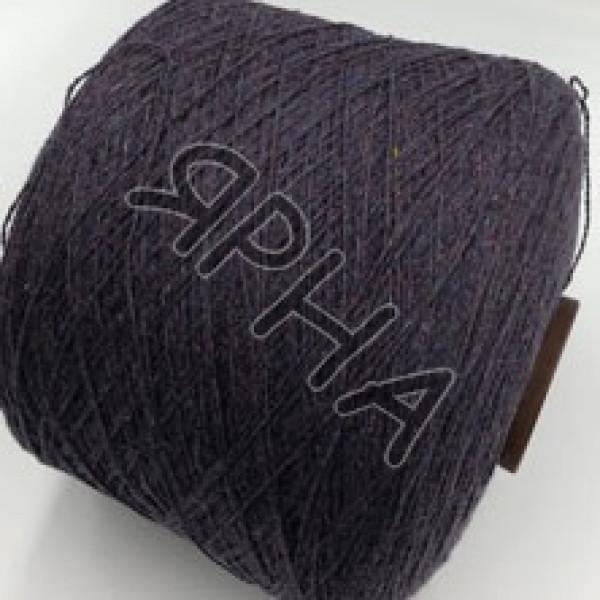 Yarn on cones Кашемир конус твид BIAGIOLI MODESTO #    120 [баклажановый твид]