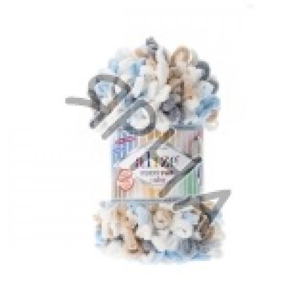 Пряжа в мотках Пуффи файн колор Alize (Ализе) #   5946 []
