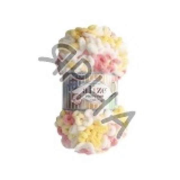 Пряжа в мотках Пуффи файн колор Alize (Ализе) #   5942 []