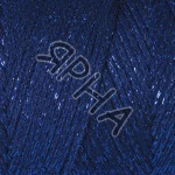 Пряжа Макраме коттон люрекс YarnArt (РАМ) #    740 [т.синий]