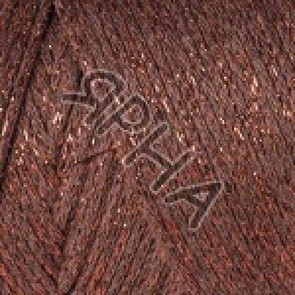 Yarn Макраме коттон люрекс YarnArt (РАМ) #    742 [коричневый]
