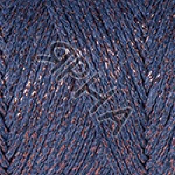 Пряжа в мотках Макраме коттон люрекс YarnArt (РАМ) #    731 [синий]