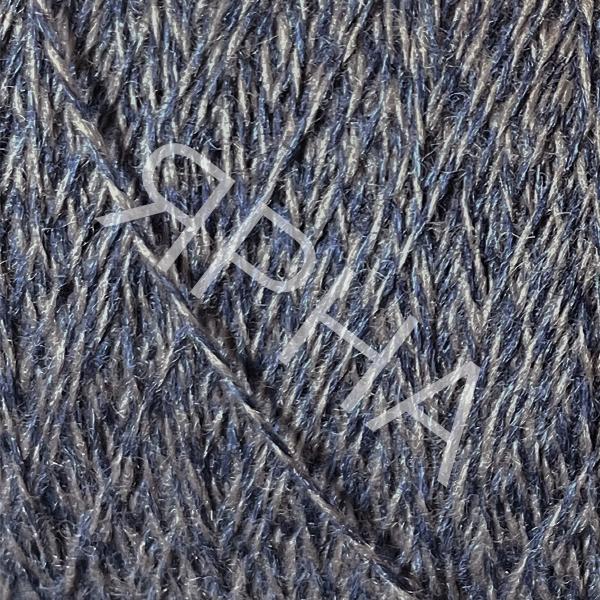 Кашемир конус Baby cashmere 66 сине-беж меланж Лоро Пиана