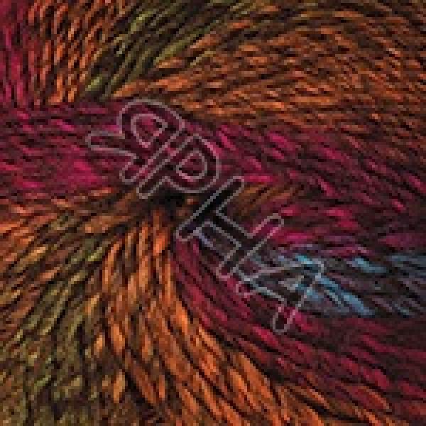 Пряжа в мотках Пацифик чанки YarnArt (РАМ) #    301 [рыж-хаки-борд-зелн]