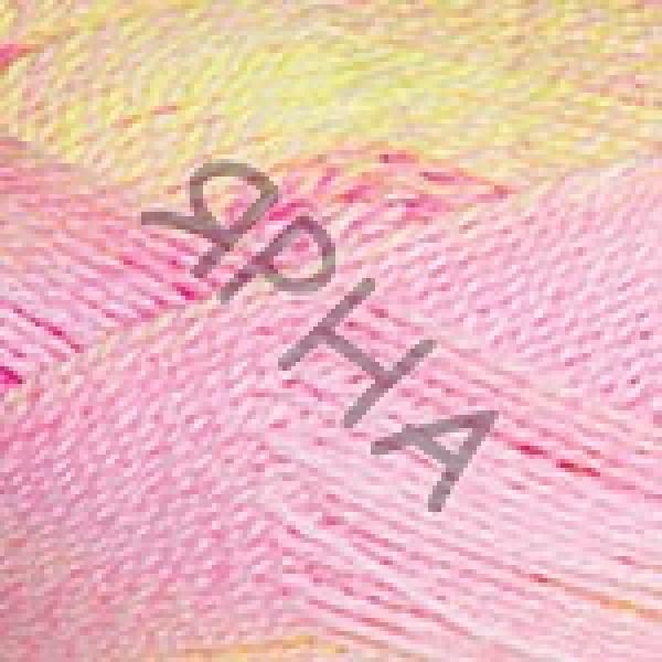 Эверест Дайлайт 6041 роз-желтый YarnArt (РАМ)