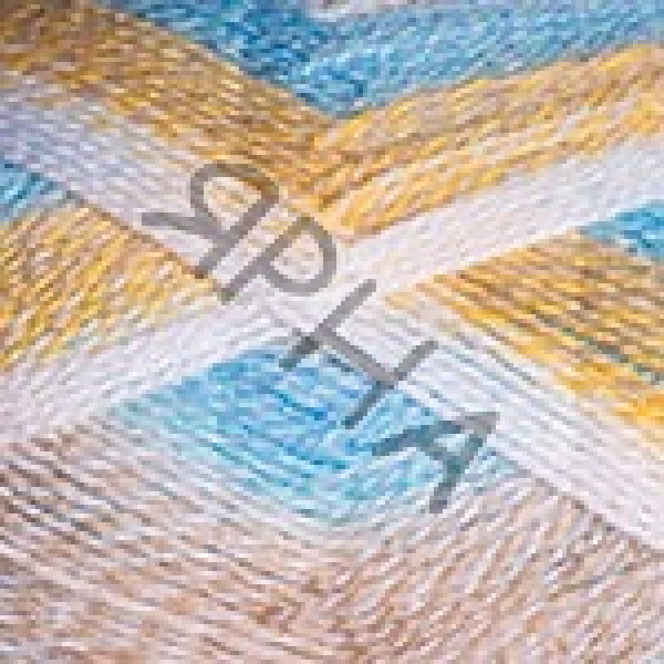 Пряжа в мотках Эверест Дайлайт YarnArt (РАМ) #   6042 [беж-белый-желтый]
