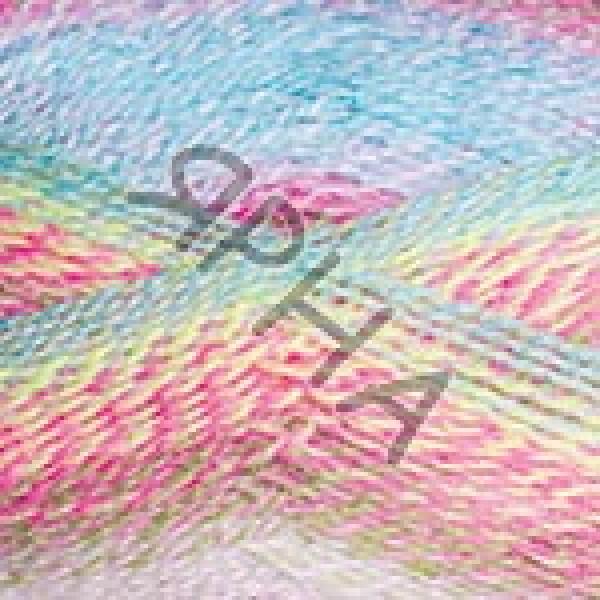 Пряжа в мотках Эверест Дайлайт YarnArt (РАМ) #   6043 [малин-голуб-желт]