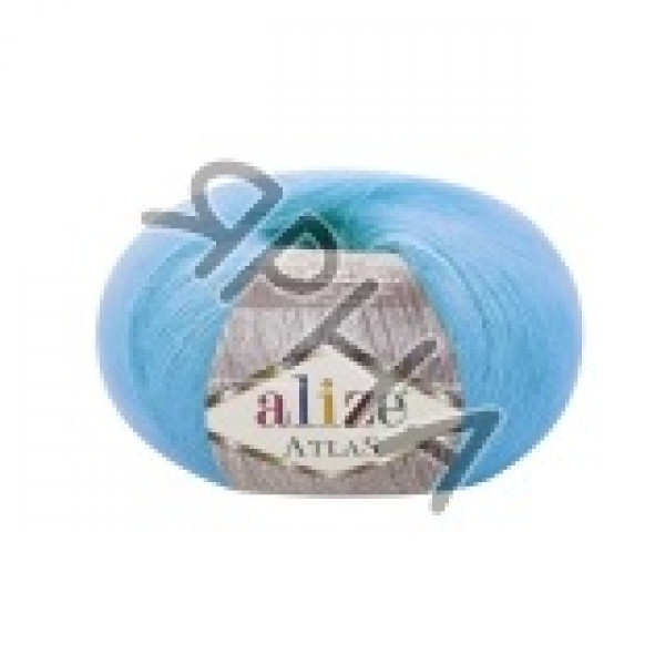 Пряжа в мотках Атлас Alize (Ализе) #    484 [бирюза]