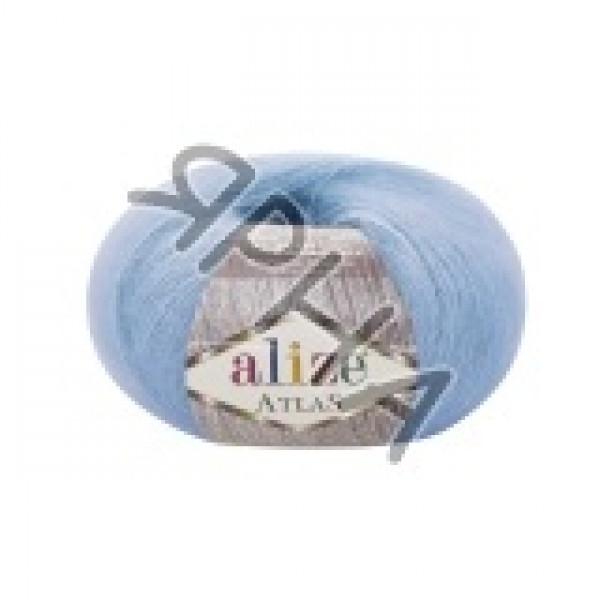Пряжа в мотках Атлас Alize (Ализе) #    549 [голубой]