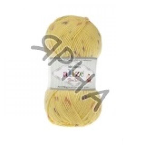 Yarn Беби бест миниколор Alize (Ализе) #   6948 [желтый]