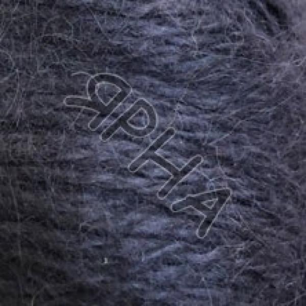Пуффо ангора #7297/125 [темный дым]