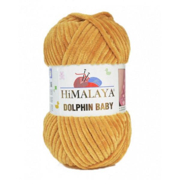Пряжа Долфин беби Himalaya #  80330 [горчица]