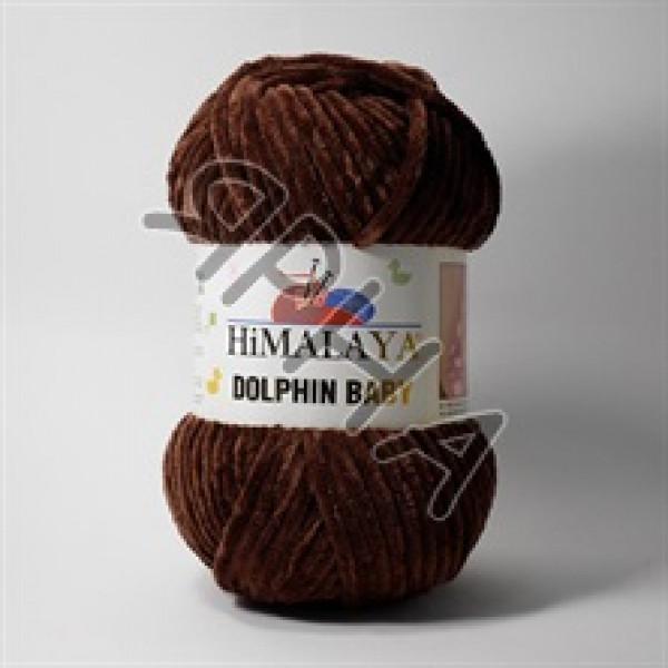Пряжа Долфин беби Himalaya #  80336 [шоколад]