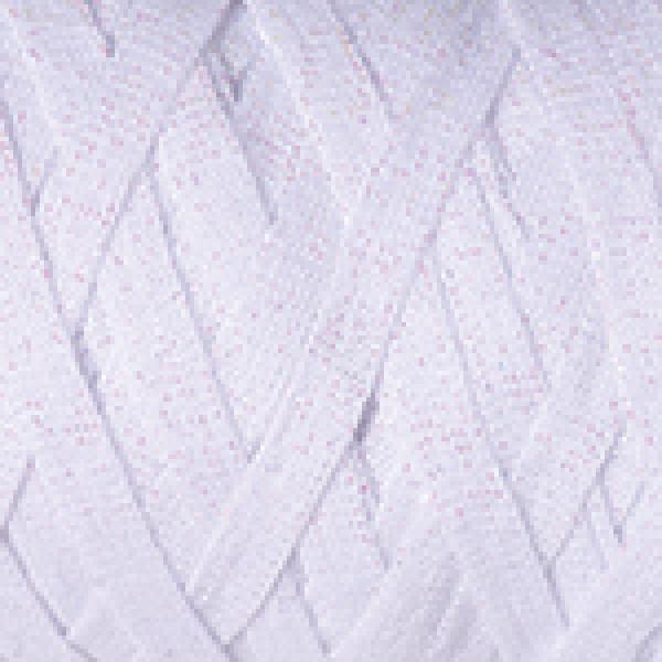 Пряжа в мотках Риббон люрекс YarnArt (РАМ) #    721 [снег]