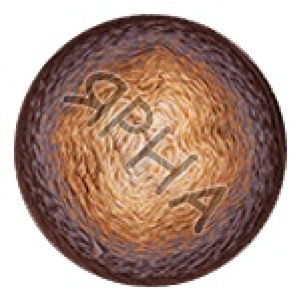 Пряжа Фловерс мунлайт YarnArt (РАМ) #   3284 [коричнев-бежевый]