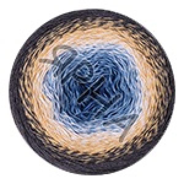Пряжа Фловерс мунлайт YarnArt (РАМ) #   3287 [серо-беж-голубой]