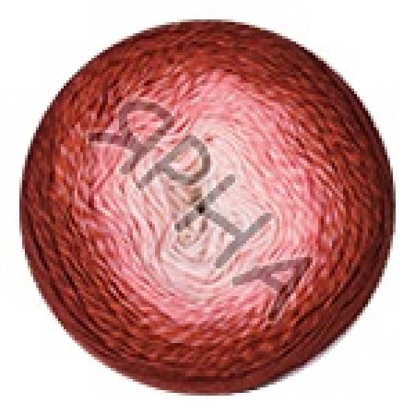 Пряжа в мотках Фловерс мунлайт YarnArt (РАМ) #   3288 [борд-малиновый]