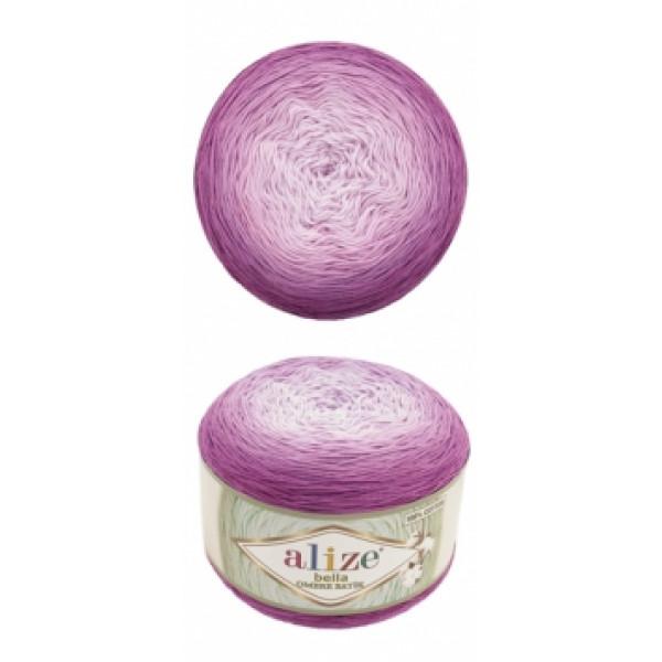 Белла омбре батик 7429 пион розовый Alize (Ализе)