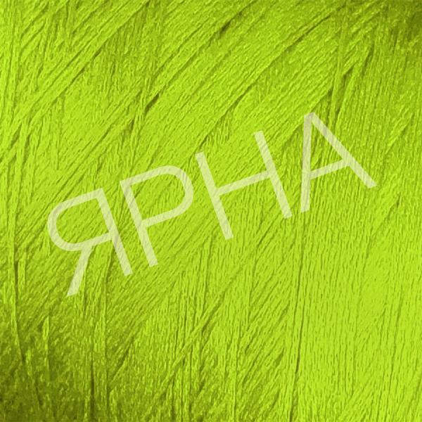 Пряжа на конусах Шелк шаппе люкс конус Botto Giuseppe #    712 [ирланд зелень]