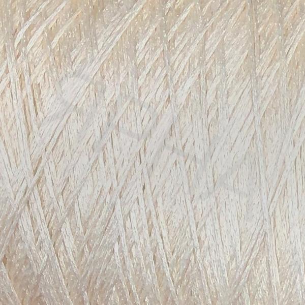 Пряжа на конусах Шелк шаппе люкс конус Botto Giuseppe #   8773 [экрю]