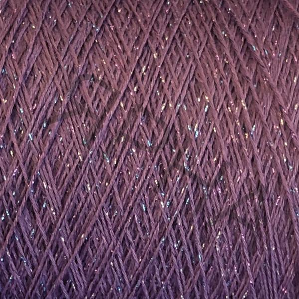 Пряжа на конусах Меринос с люрексом Melo Sudwollegroup #    207 [сливовый]