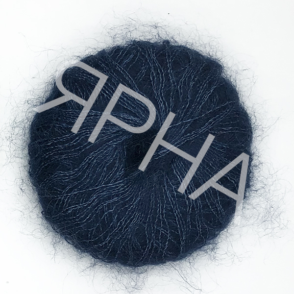 Yarn Soft dream Ярна #18617/225 [синяя волна]