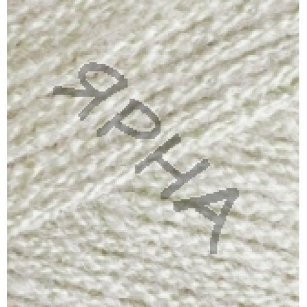 Пряжа в мотках Суперлана Зинджир (ZINCIR) Alize (Ализе) #    599 [слоновая кость]