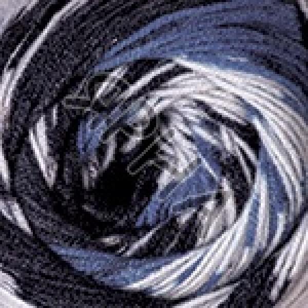 Пряжа в мотках Нордик YarnArt YarnArt (РАМ) #    650 [серо-черный]