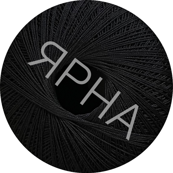 Yarn Filo di scozia 12 Titan Wool #    196 [черный]