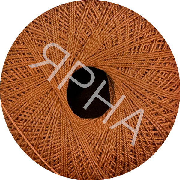 Yarn Filo di scozia 12 Titan Wool #    155 [коричн-медный]