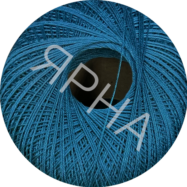 Yarn Filo di scozia 12 Titan Wool #    278 [синяя волна]