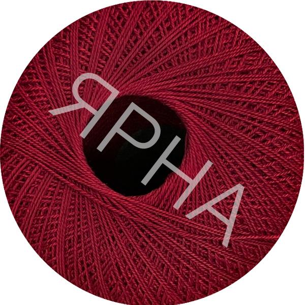Yarn Filo di scozia 12 Titan Wool #    286 [красная вишня]