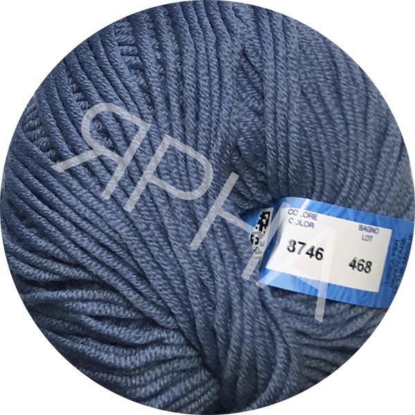 Yarn Full Ярна/ВВВ #   8746 [серый джинс]