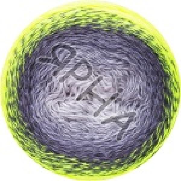 Пряжа в мотках Фловерс вивид YarnArt (РАМ) #    502 [салат-серый]