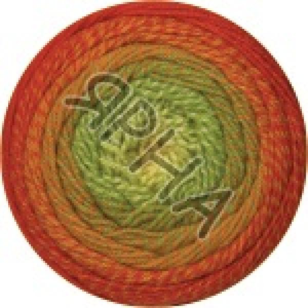 Фловерс мерино 539 рыже-зеленый YarnArt (РАМ)