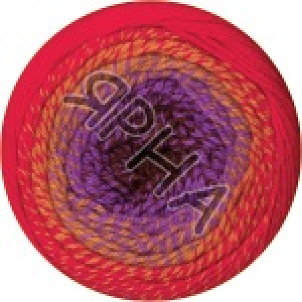 Фловерс мерино 541 красно-фиолет YarnArt (РАМ)
