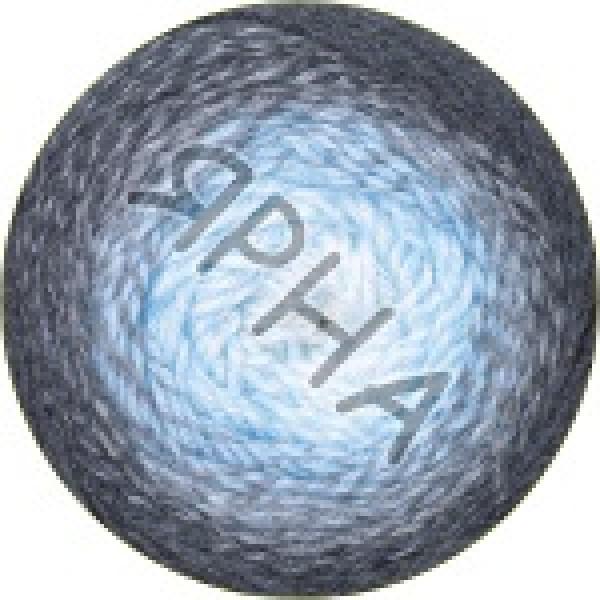 Фловерс мерино 550 серо-голубой YarnArt (РАМ)