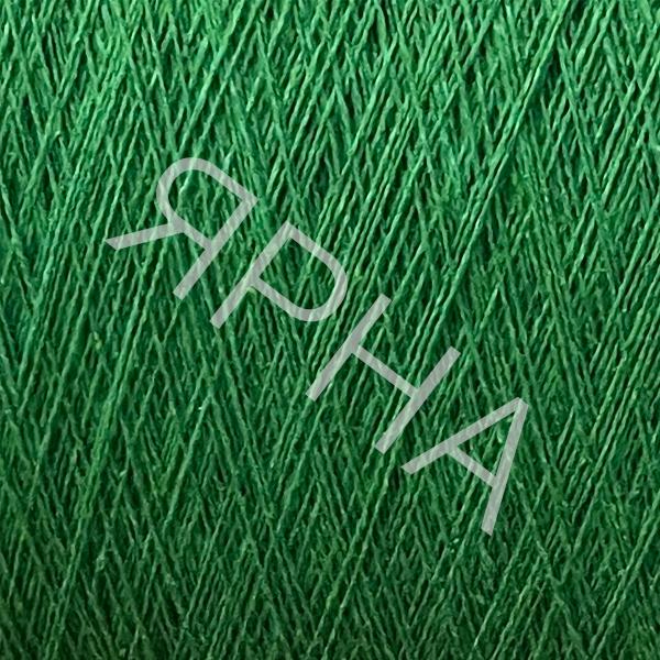 Шелк и лен 2/28 Бермуды 12265 зеленый луг Filati Naturali