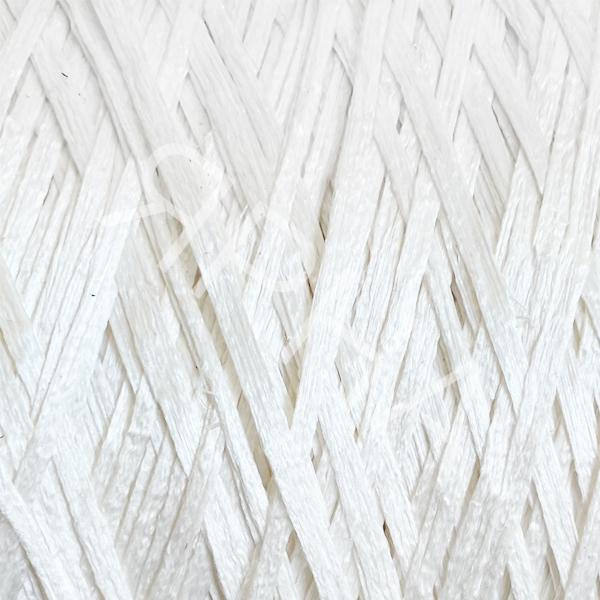 Шелк 100% ленточный 2101 белый НASEGAWA