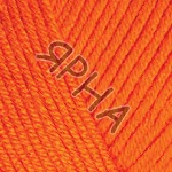 Пряжа в мотках Беби коттон  YarnArt (РАМ) #    421 [морковь]