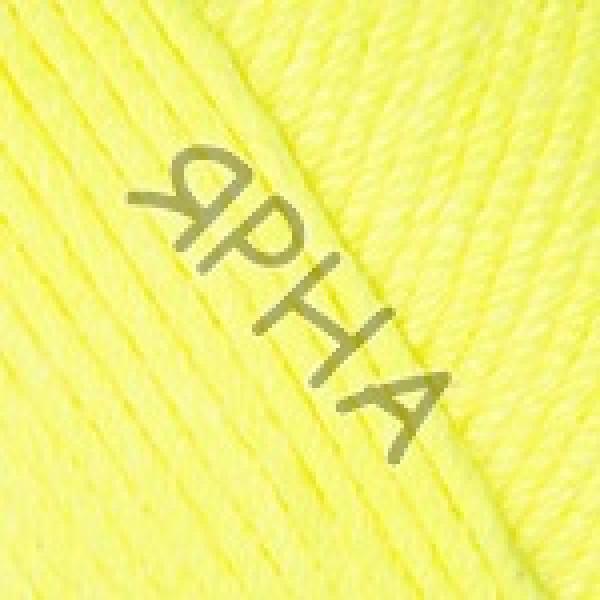 Пряжа в мотках Беби коттон  YarnArt (РАМ) #    430 [желтый неон]