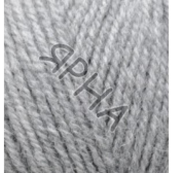 Пряжа в мотках Альпака роял Alize (Ализе) #     21 [св серый]
